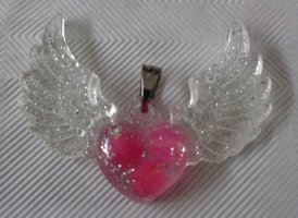 Angel WIngs, Roze Jade, Chamuël €15,00