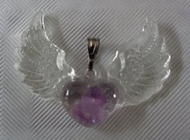 Angel wings, Amethyst, Zadkiël €15,00
