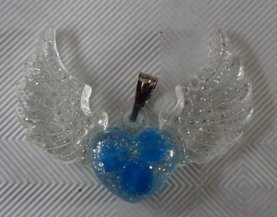 Angel Wings, Blauwe jade, Michaël €15,00