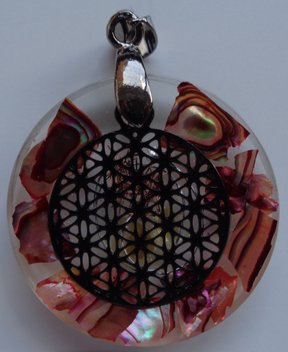 Citrien, Abalone, Flower of Life €20,00
