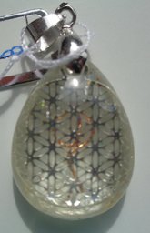 Citrien, FLower of Life zilverkleur €15,00