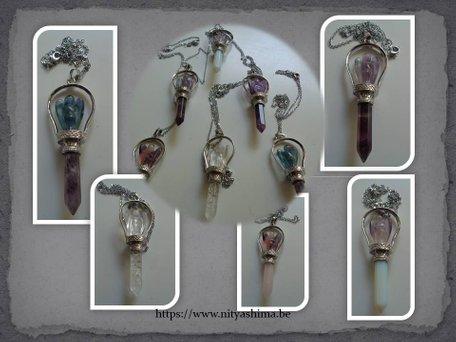 Healing Angels Gemstone pendulum €18,00